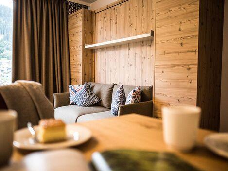Our holiday homes in Austria are cosily furnished.