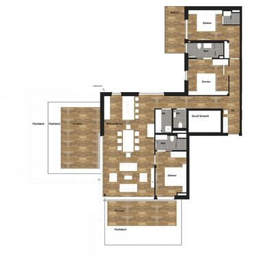 4 room penthouse deluxe